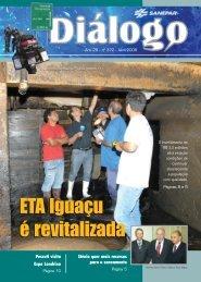 ETA Iguaçu é revitalizada ETA Iguaçu é revitalizada - Sanepar