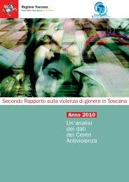 Secondo Rapporto sulla violenza di genere in Toscana