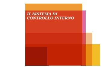 il sistema di controllo interno - Dipartimento di Studi Aziendali e ...