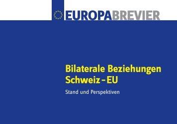 Europabrevier, Januar 2009 (PDF, 2 MB) - Kanton Zürich