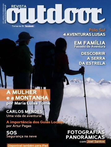 a mulher e a montanha - Revista Outdoor