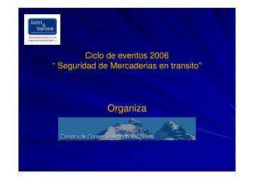 Documento PDF Seguridad de mercaderias en transito - Camara de ...