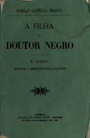 A filha do Doutor Negro