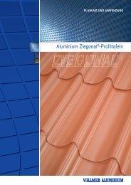 Ziegonal - Planung und Anwendung - Vollmer Aluminium aluminium