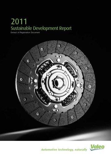 Sustainable Development Report  - Valeo