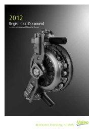 2012 Registration document (PDF 1.97MB) - Valeo