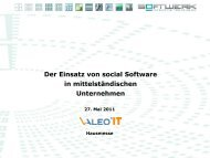 "Was ist ""social Software"" - VALEO IT"