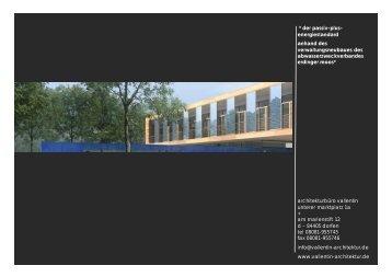 der passiv-plus- energiestandard anhand des ... - architektur vallentin