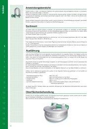Anwendungsbereiche Sortiment Ausführung ... - Van Beest BV