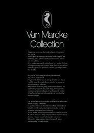 Download hier de folder Van  Marcke Collection