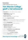 Infobrochure en Opleidingskalender - Van Marcke - Page 3