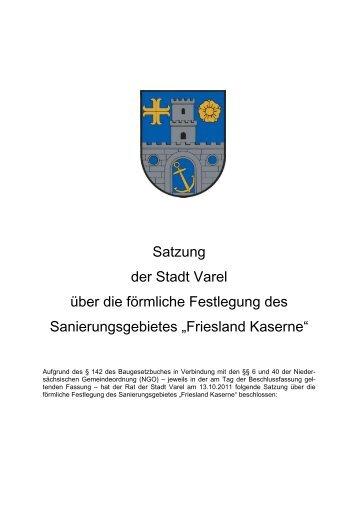 Friesland Kaserne - Stadt Varel