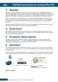DIGIPASS Authentication for FortiGate IPSec VPN - Vasco - Page 5