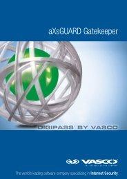 aXsGUARD Gatekeeper - Vasco