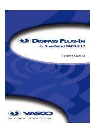 Digipass Plug-In for SBR Getting Started - Vasco