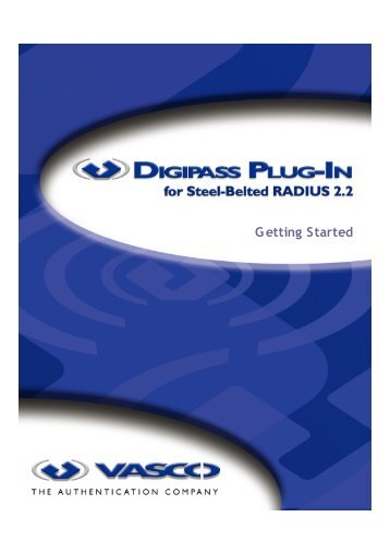 Digipass Plug-In for SBR Getting Started - Vasco