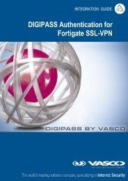 DIGIPASS Authentication for FortiGate VPN SSL IDENTIKEY - Vasco