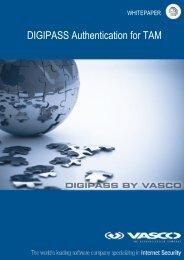 DIGIPASS Authentication for TAM - Vasco