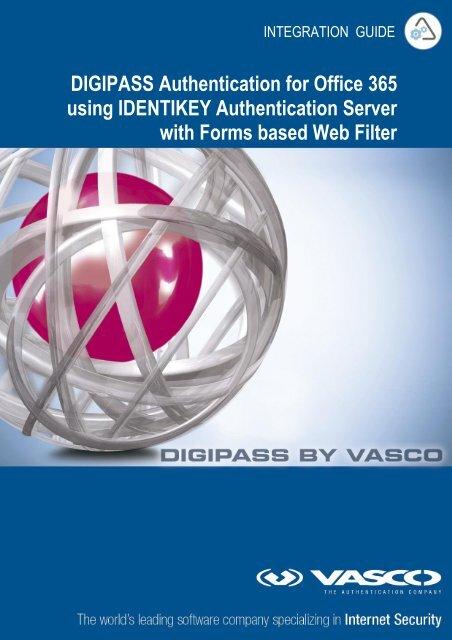 DIGIPASS Authentication for Office 365 using IDENTIKEY ... - Vasco