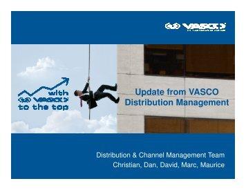PART 3 - VASCO Distri Management Update