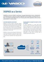 DIGIPASS as a Service - Vasco