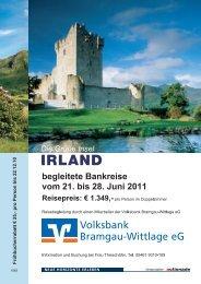 IRLAND - Volksbank Bramgau-Wittlage eG