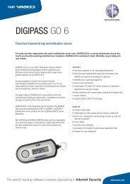 DIGIPASS GO 6 - Vasco