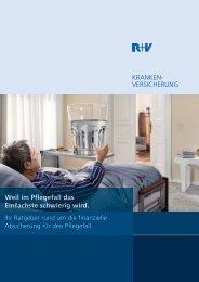R+V Pflege-Ratgeber - Raiffeisenbank Neumarkt i. d. OPf. eG