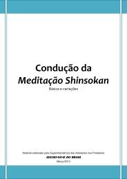 Apostila Condução da Meditação Shinsokan - seicho-no-ie do brasil