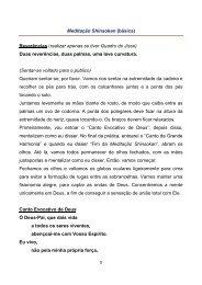 Meditação Shinsokan (básica) - seicho-no-ie do brasil