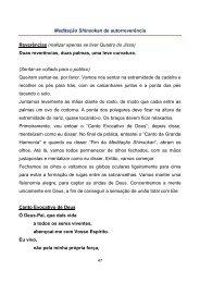 Meditação Shinsokan de autorreverência - seicho-no-ie do brasil