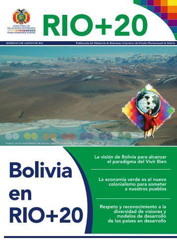 Bolivia en RIO+20