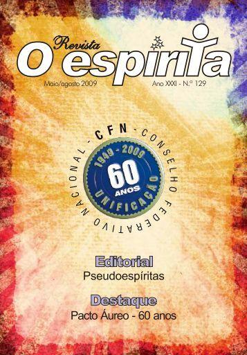 CAPA 129 - Revista Espírita