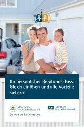 finden Sie den Beratungspass - Volksbank Bruchsal-Bretten eG