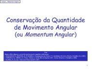 Conservação momentum angular