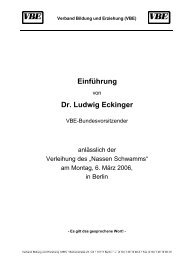 Einführung Dr. Ludwig Eckinger