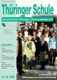 01– 02 ·2006 - VBE Verband Bildung und Erziehung