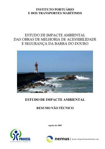ESTUDO DE IMPACTE AMBIENTAL DAS OBRAS DE MELHORIA ...