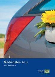 Mediadaten 2011 - VCS Verkehrs-Club der Schweiz