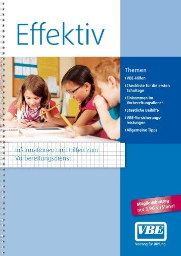 können Sie diese Schrift herunterladen - VBE Baden-Württemberg
