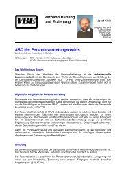 als PDF - VBE Baden-Württemberg