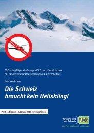 Die Schweiz braucht kein Heliskiing! - VCS Verkehrs-Club der ...