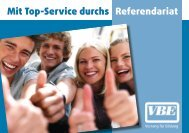 TOP-SERVICE im Referendariat - VBE Baden-Württemberg