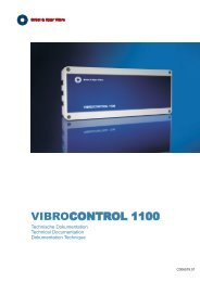 VIBROCONTROL 1100 - Brüel & Kjaer Vibro