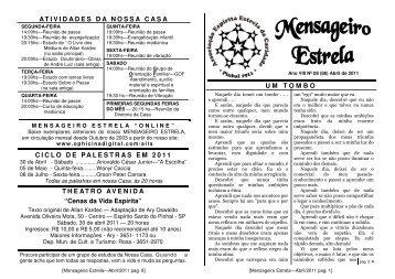 Jornal nº VIII-08 - Abril 2011 - ophicina digital