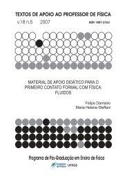 Texto de Apoio - Instituto de Física - UFRGS