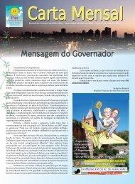 carta mensal novembro de 2012 - Distrito 4600