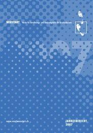 JAHRESBERICHT 2007 NEUSTART - Verein NEUSTART