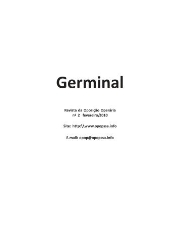 Revista Germinal nº 2