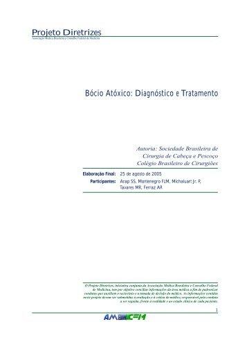 Bócio Atóxico: Diagnóstico e Tratamento - Projeto Diretrizes